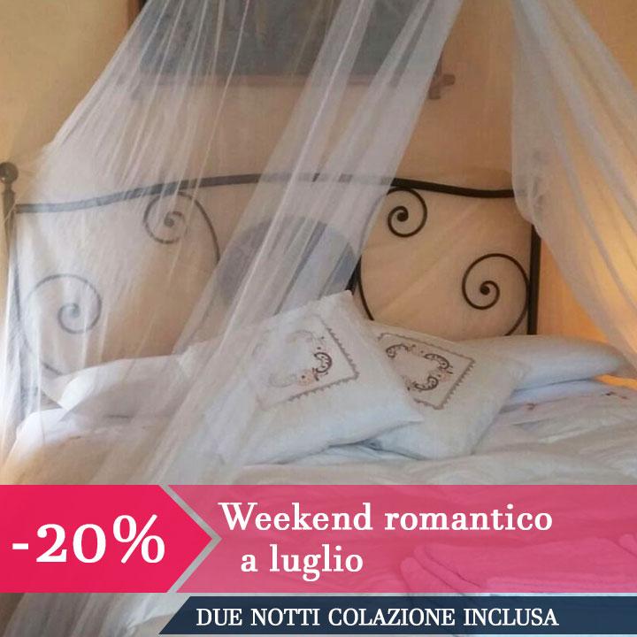Weekend romantico a luglio -20%